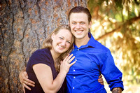 Engagement Portrait by Silverleaf Photography Bend, Oregon