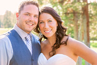 Bride and Groom Portrait by Silverleaf Photography Bend, Oregon