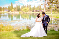 Bride & Groom Bend Oregon Silverleaf Photography